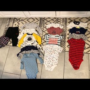 Baby Boy Lot Size 9mth+